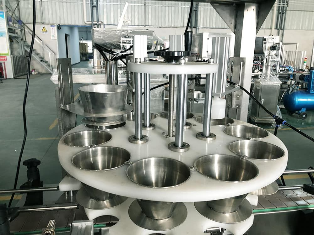weighing and filling machine