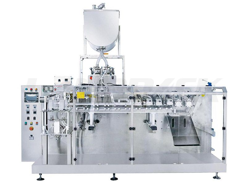 Horizontal Double Special-Shaped Premade Pouch Packing Machine