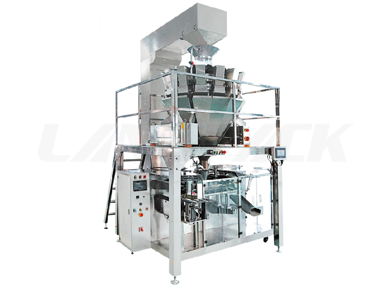 Horizontal Premade Pouch Granule Multihead Weigher Packing Machine