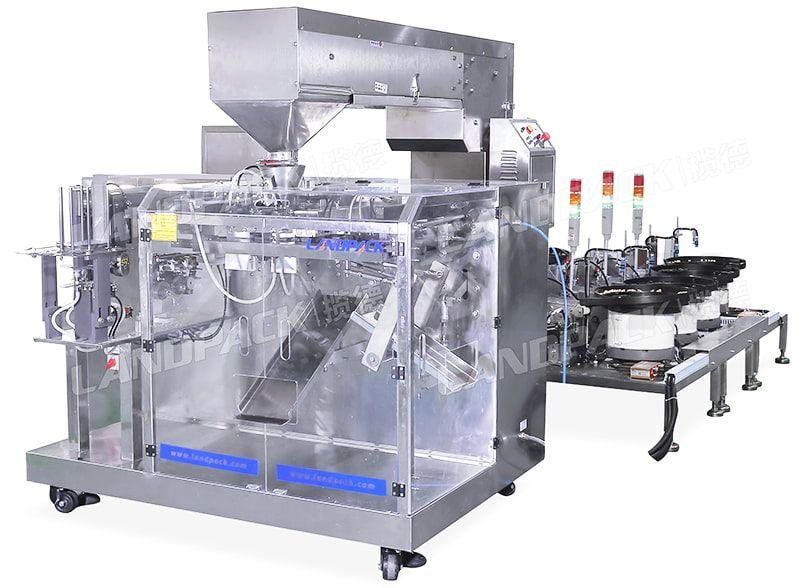 horizontal premade pouch machine