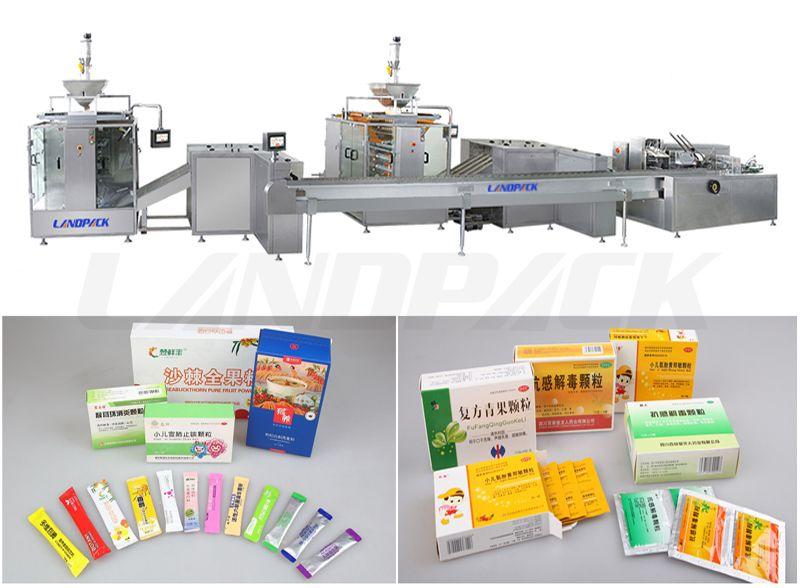 Multi Lane Packaging Machine And Cartoning Packaging System