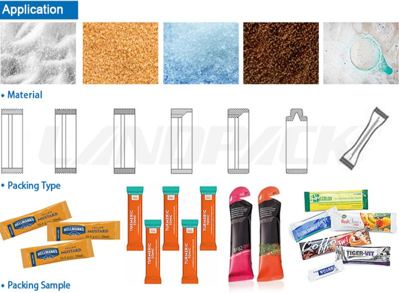 sugar stick packing machine price