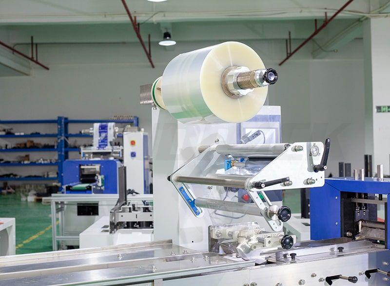 flow wrapper packaging machine