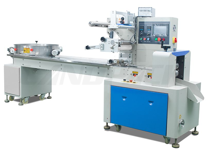 Automatic Candy Pillow Pack Machine LP-250C