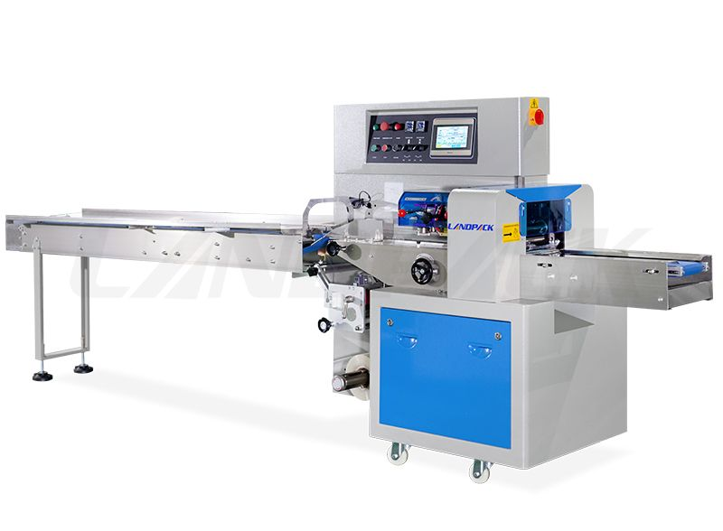 Automatic Pillow Packing Machine Double Frequency Control