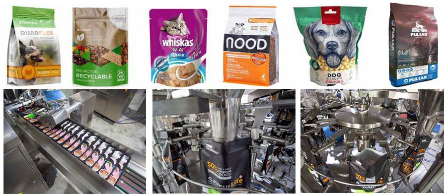Australia Customized Full Automatic Dog Food Doypack Machine